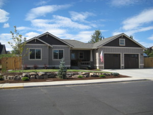 Craftsman style single story home