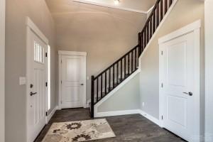 craftsman style foyer